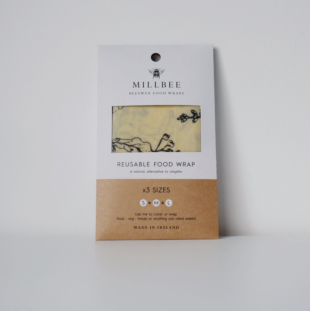 Millbee Beeswax Food Wraps Variety Pack