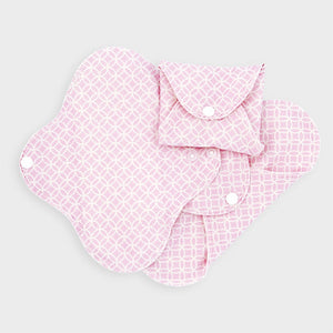 Sanitary Cloth Pads, cotton jersey
