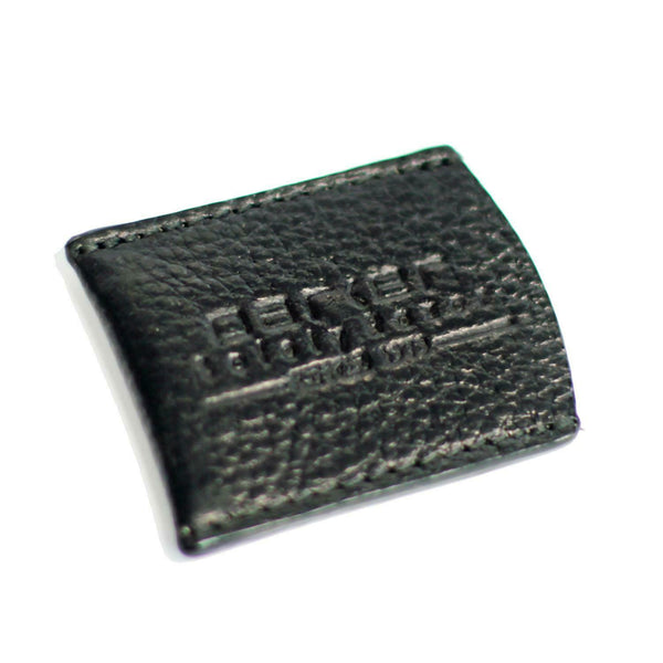 Black Leather Razor Cover
