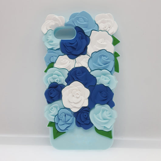 Blue Flower Bed Case