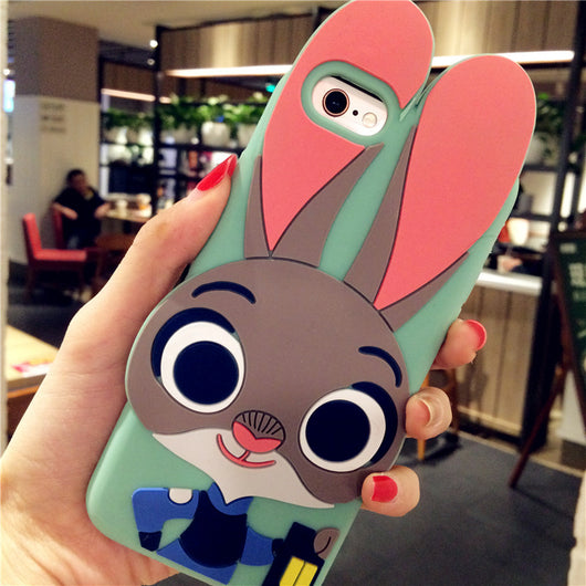 Cute Bunny Rabbit iPhone Case