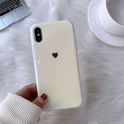 Frosty Heart iPhone Case