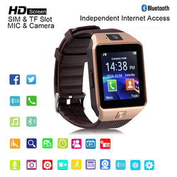 Bluetooth Smart Watch Dz09 Anti-Lost Passometer Support Sim Card Tf Card For Android Phone