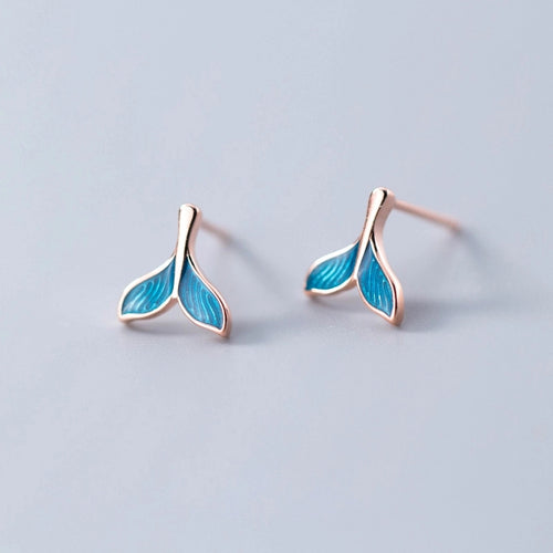 Mermaid Ear Studs