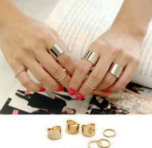 6 Pcs Look Every Inch Chic Ring