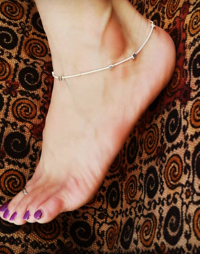 Cube Anklet