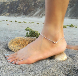 Chain & Beads Anklet