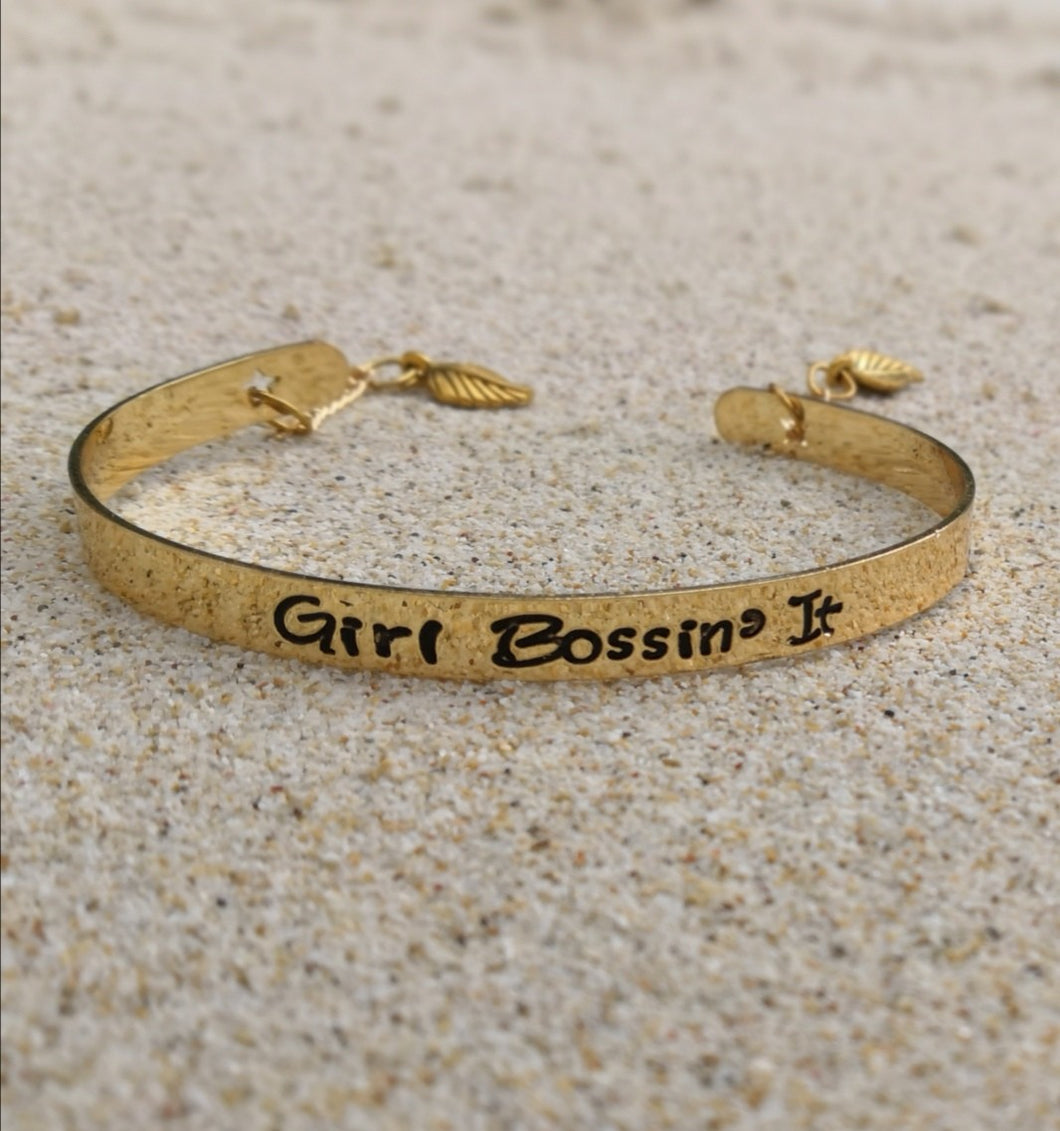 #girlbossinit Bracelet