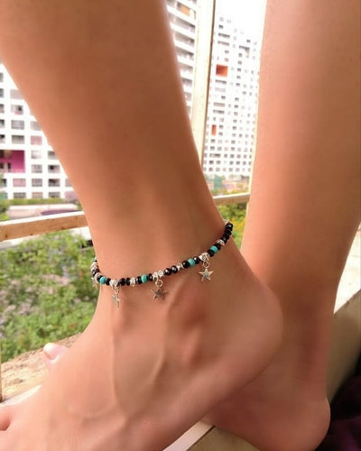 Night Sky Anklet + Bracelet