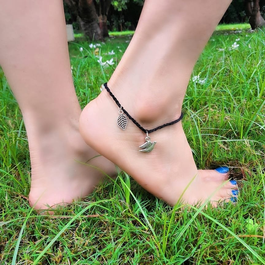 Fly High Anklet