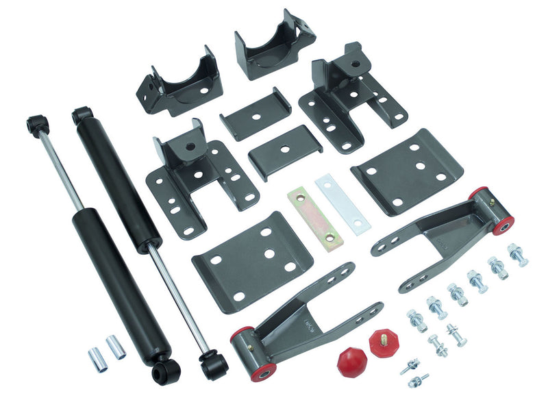 "Maxtrac - 2014-2018 Chevy Silverado 1500 2wd/4wd 3-4"" Adj. Rear Flip Kit W/ MaxTrac Shocks - MaxTrac 201340-Suspension-Deviate Dezigns (DV8DZ9)"