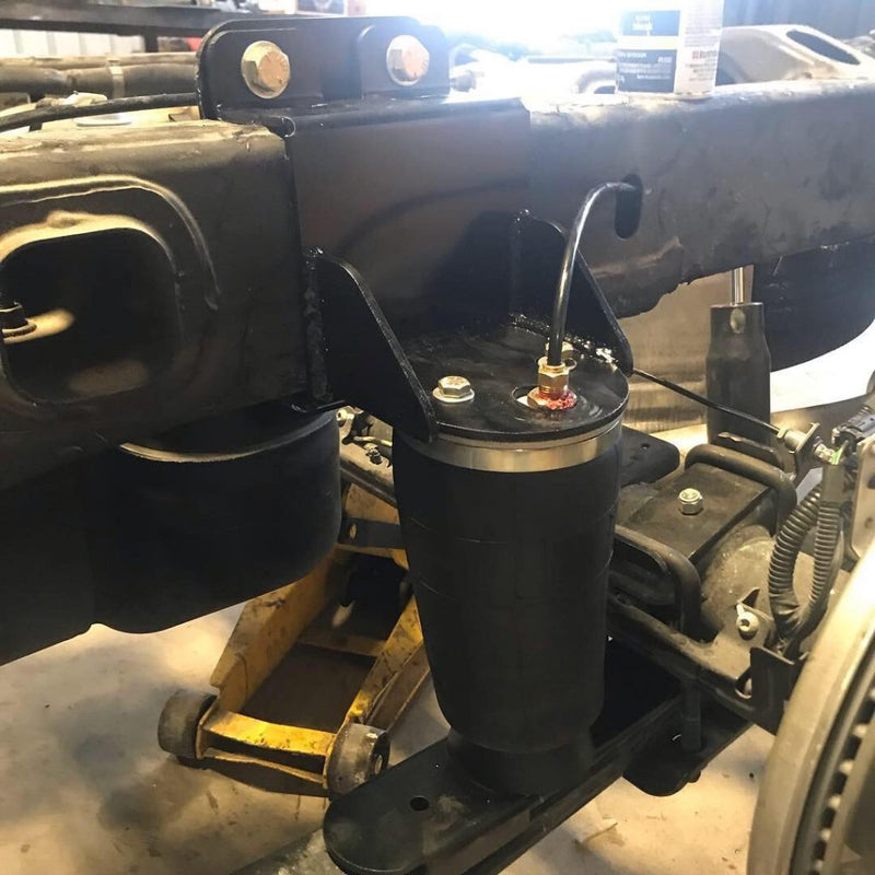 IHC - 2019-2020 GM 1500 Helper Bag Kit (Lowered Application)-Suspension-Deviate Dezigns (DV8DZ9)