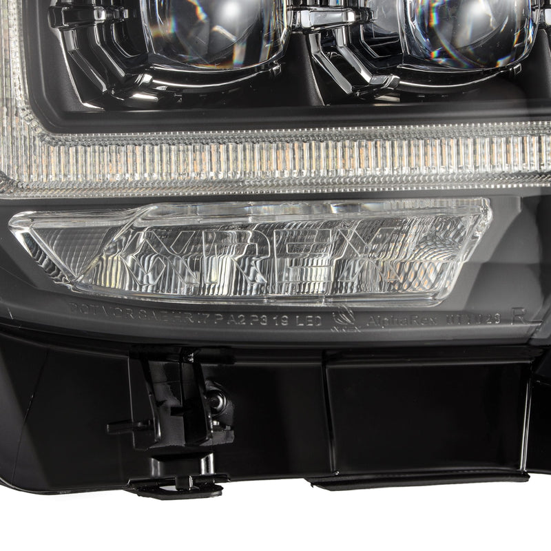 ALPHAREX - 16-20 Toyota Tacoma NOVA-Series LED Projector Headlights Black-Lighting-Deviate Dezigns (DV8DZ9)