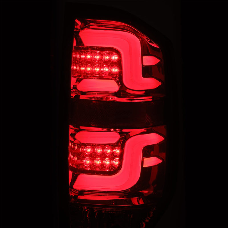 ALPHAREX - 14-20 Tundra PRO-Series LED Tail Lights Jet Black-Lighting-Deviate Dezigns (DV8DZ9)