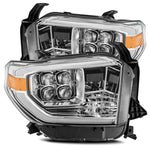 ALPHAREX - 14-20 Tundra NOVA-Series LED Headlights Chrome-Lighting-Deviate Dezigns (DV8DZ9)