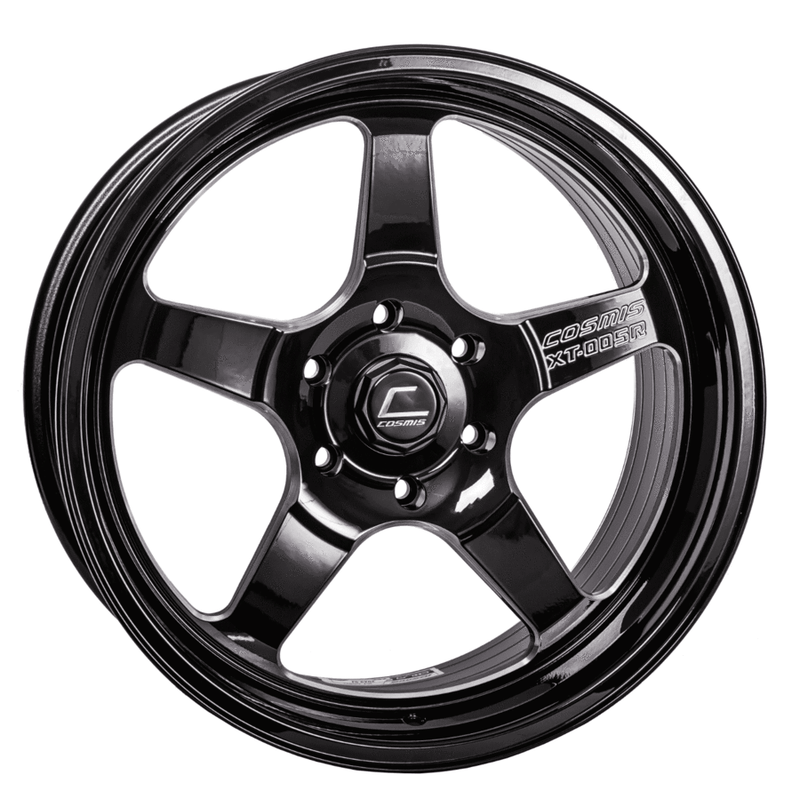 COSMIS - XT005R | Black w/ Blk Machined Lip-Wheels-Deviate Dezigns (DV8DZ9)