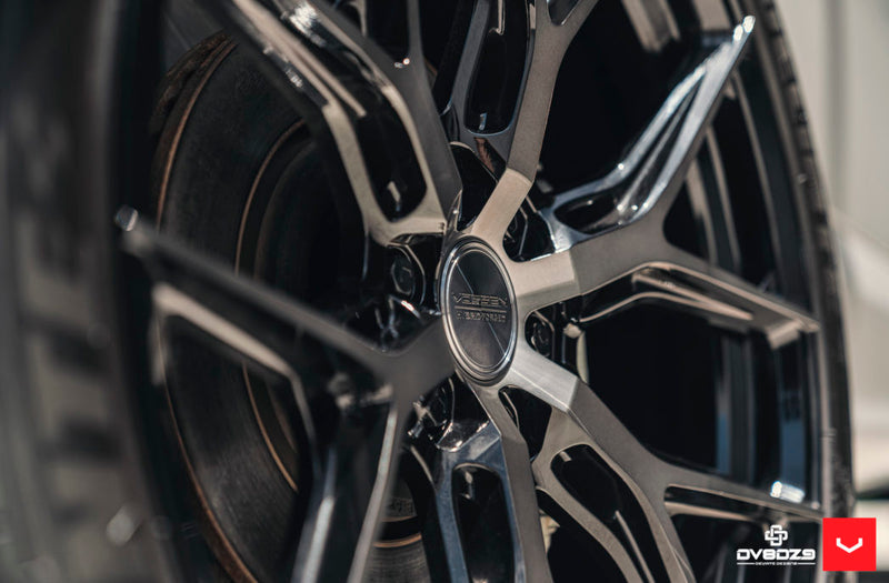 "Vossen 24"" HF6-4 - Tinted Gloss Black 