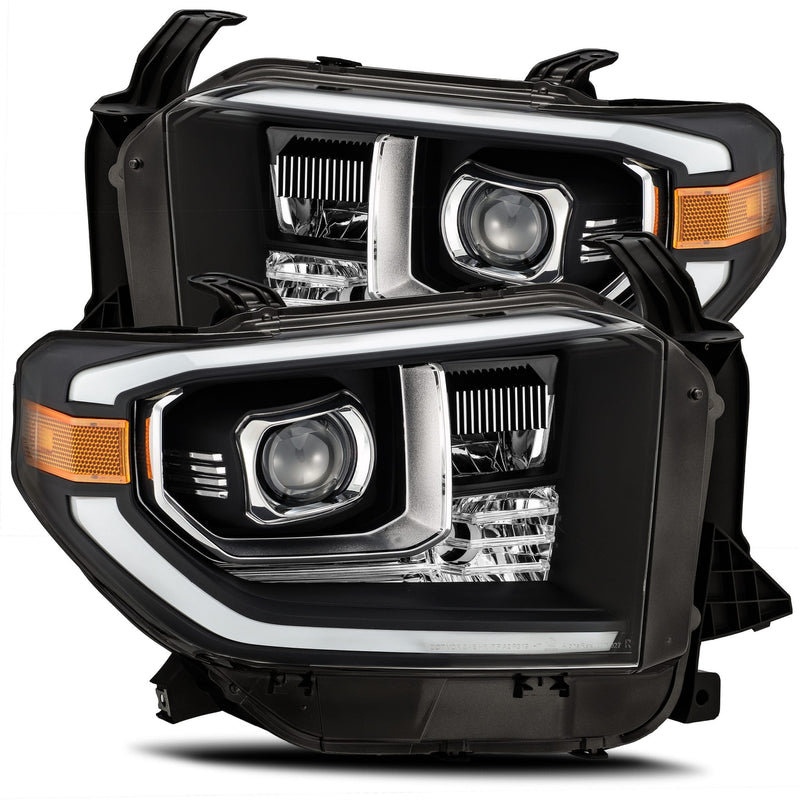 ALPHAREX - 14-20 Tundra LUXX-Series LED Headlights Black-Lighting-Deviate Dezigns (DV8DZ9)