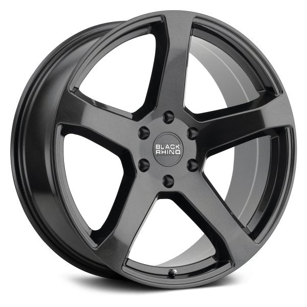 BLACK RHINO - Faro | Metallic Black-Wheels-Deviate Dezigns (DV8DZ9)