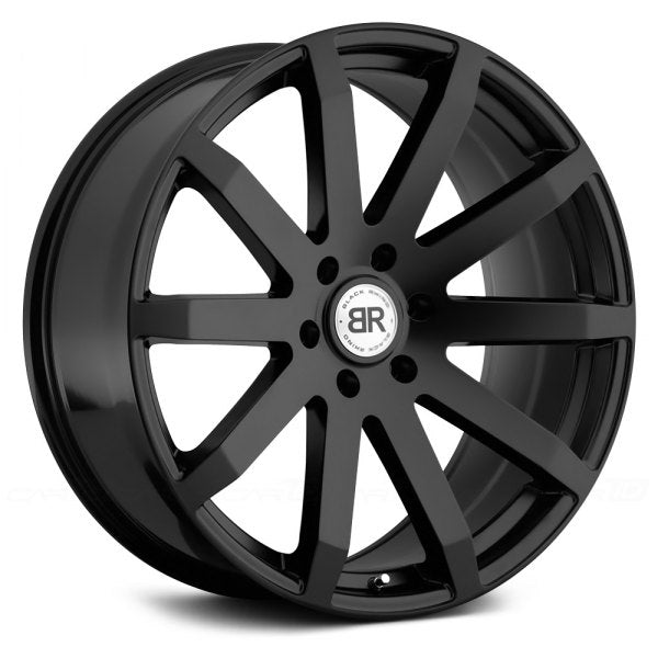 BLACK RHINO - Traverse | Matte Black-Wheels-Deviate Dezigns (DV8DZ9)