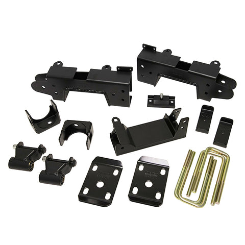 "Belltech - 19-20 Silverado / Sierra 1500 Dbl. / Crew Cab 2WD 6"" Drop Flip Kit Inc C-Notch-Suspension-Deviate Dezigns (DV8DZ9)"