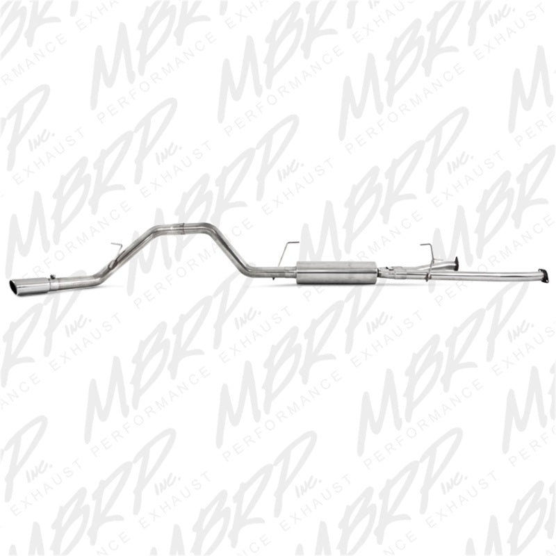 MBRP 2009-2010 Toyota Tundra 5.7L EC-Std. & SB/CC-SB Cat Back Single Side