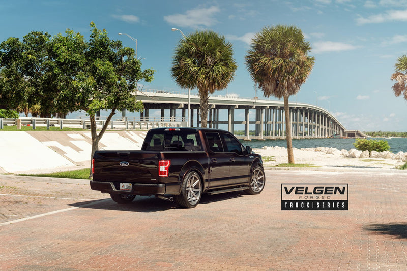 "Velgen 24"" VFT8 - Brushed Tinted Clear 