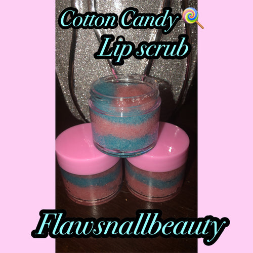 """Sugar Lips"" Cotton candy lip scrub"