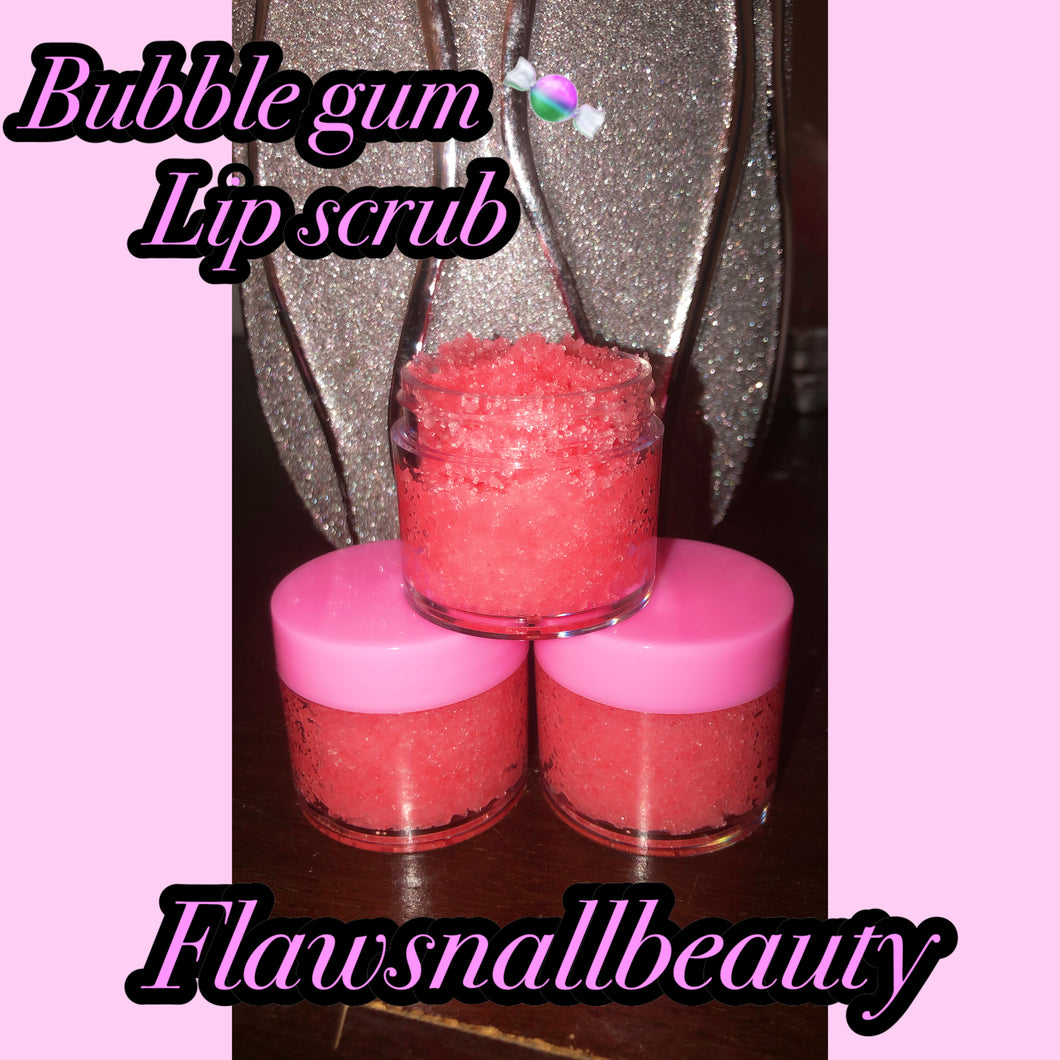"""Sugar Lips"" Bubble Gum Lip Scrub"
