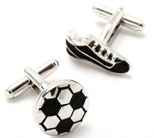 Load image into Gallery viewer, iGame Factory Price Supply Sport Cuff Links Golf Football Tennis Design Free Shipping