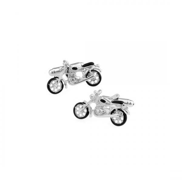LNRRABC 2018 new Cufflinks Fashion Motorcycle Jewelry Gift cufflinks Shape Casual Silver Wedding Unisex Party men jewelry clip