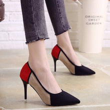 Load image into Gallery viewer, women's fashion comfortable buckle strap high heel shoes