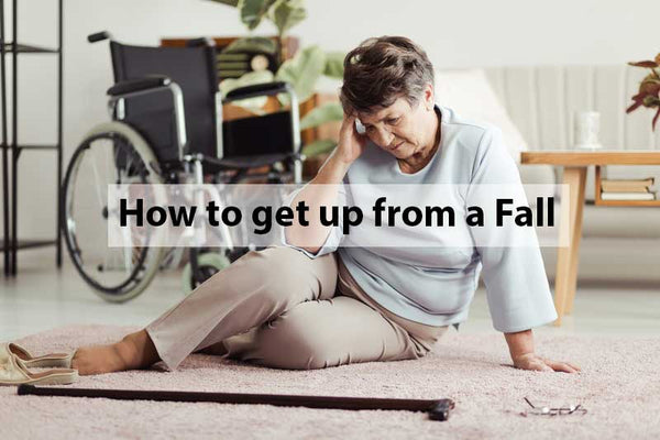 Seniors Guide on how to get up from a Fall
