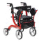 Nitro Duet Dual Function Transport Wheelchair and Rollator