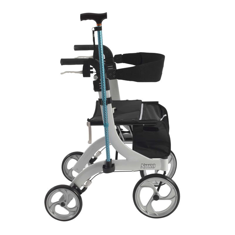 Nitro Rollator Rolling Walker Cane Holder - Rollators
