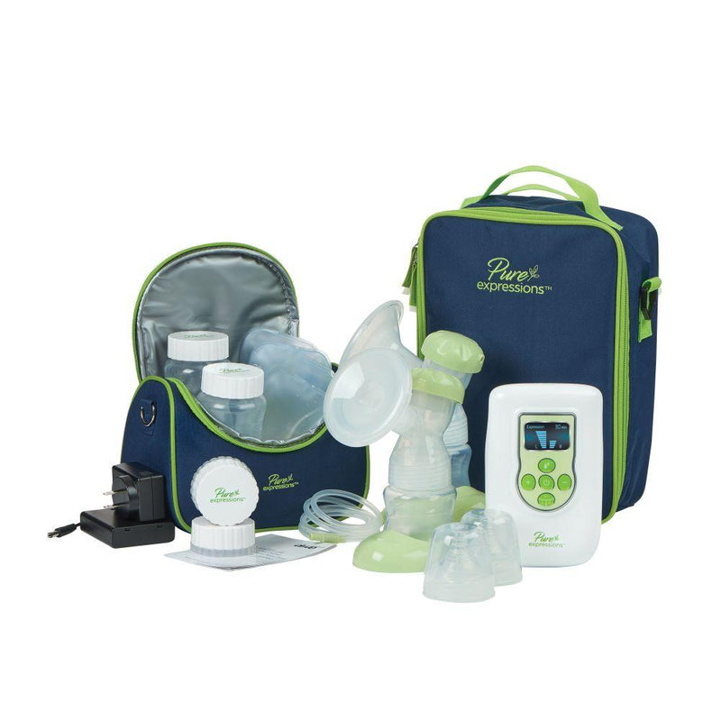 Pure Expressions Deluxe Dual Channel Electric Breast Pump -