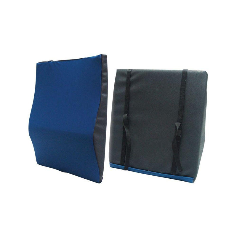 General Use Back Cushion with Lumbar Support - Pressure