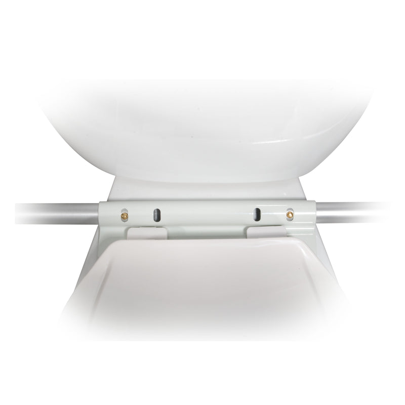 Toilet Safety Frame with Padded Armrests - Bathroom Safety