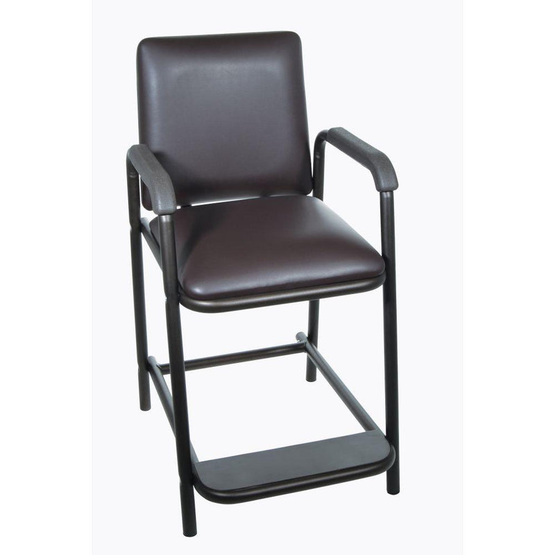 High Hip Chair with Padded Seat - Patient Room
