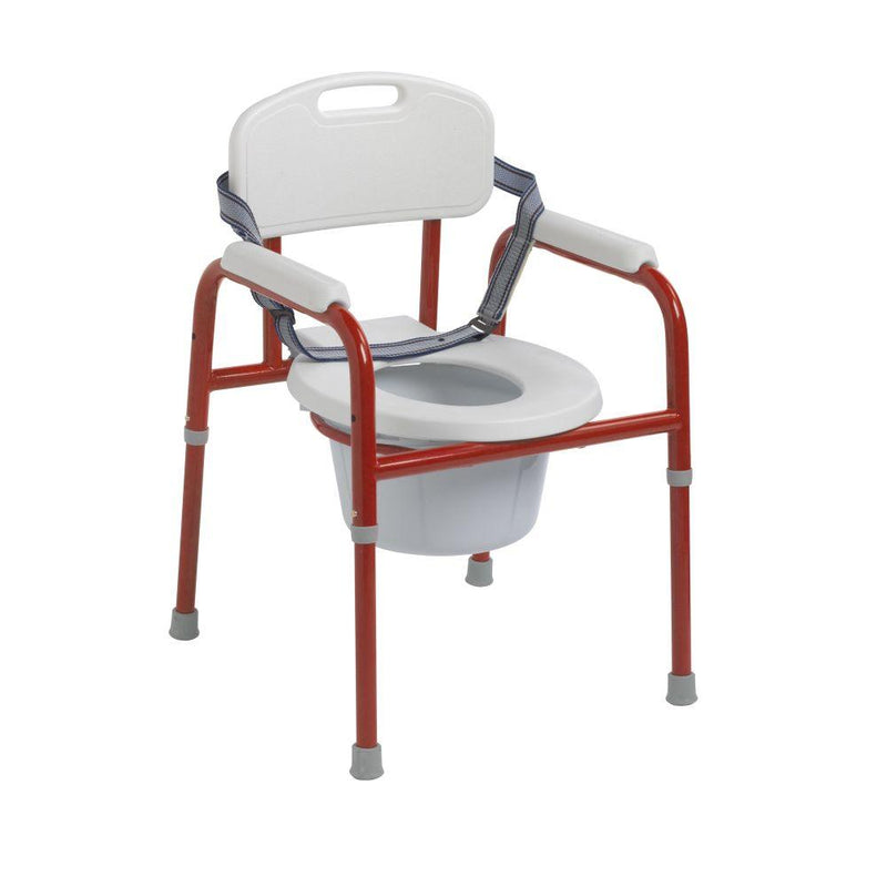 Pinniped Pediatric Commode Red - Pediatric Rehab