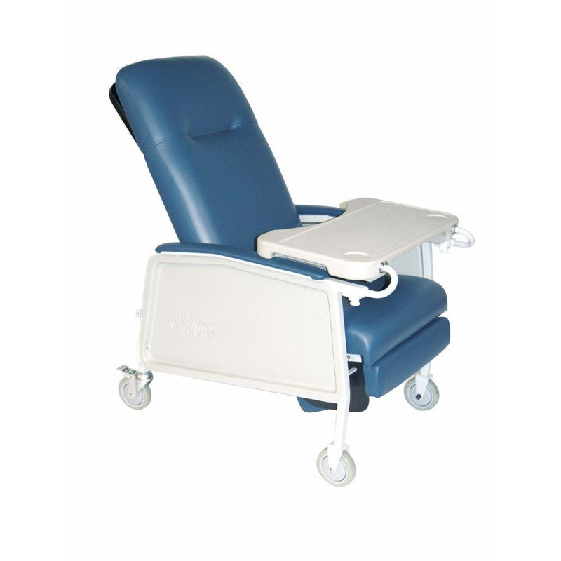 3 Position Heavy Duty Bariatric Geri Chair Recliner Blue