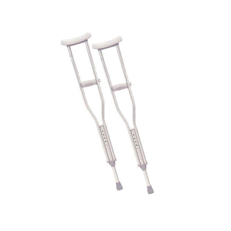 Walking Crutches with Underarm Pad and Handgrip Youth 1 Pair
