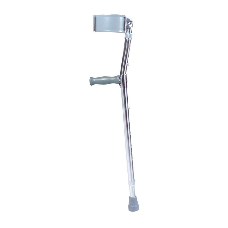 Lightweight Walking Forearm Crutches Tall Adult 1 Pair -