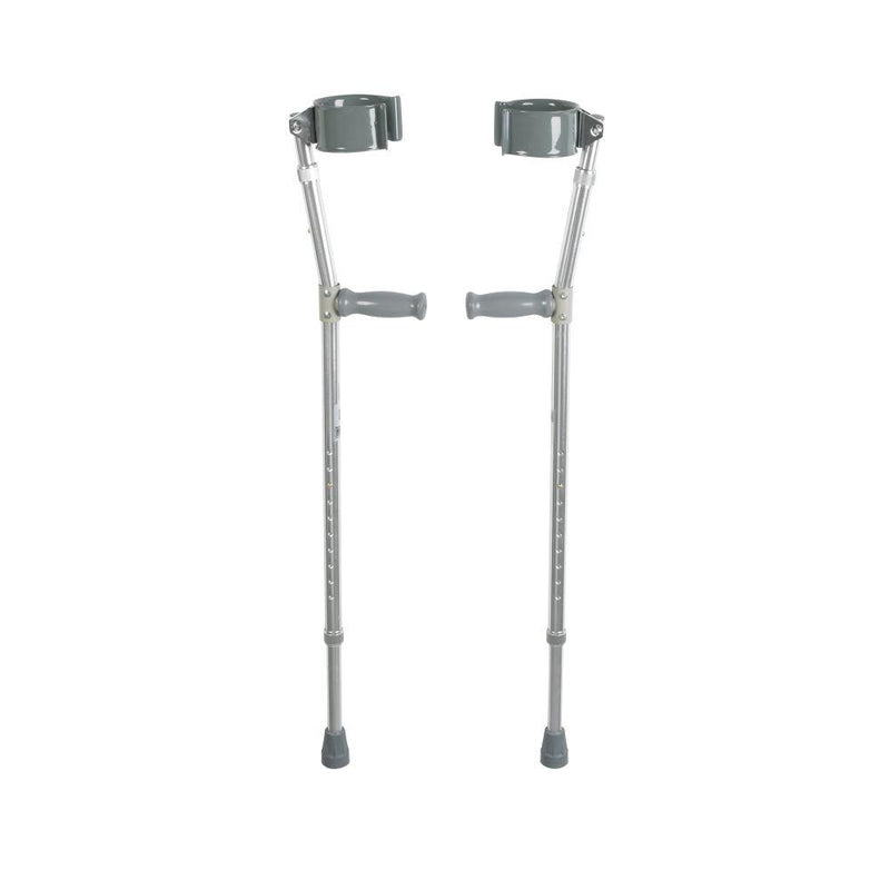 Lightweight Walking Forearm Crutches Adult 1 Pair - Crutches
