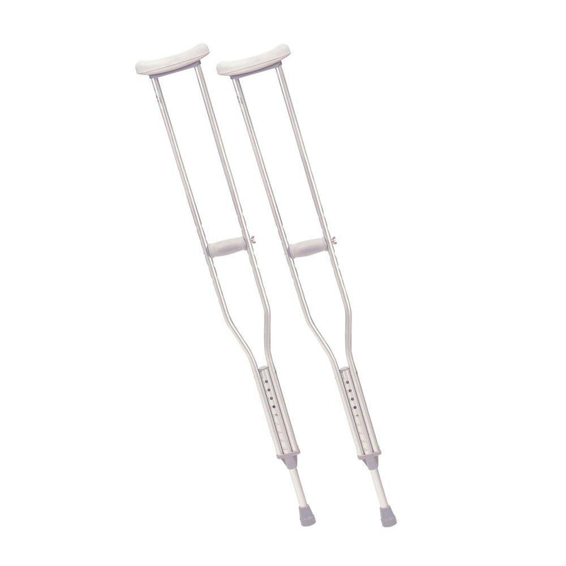 Walking Crutches with Underarm Pad and Handgrip Tall Adult 1