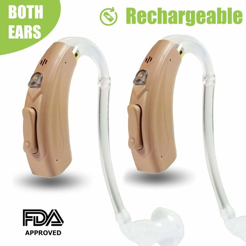 Coro - Rechargeable Digital Hearing Amplifier - up to 20