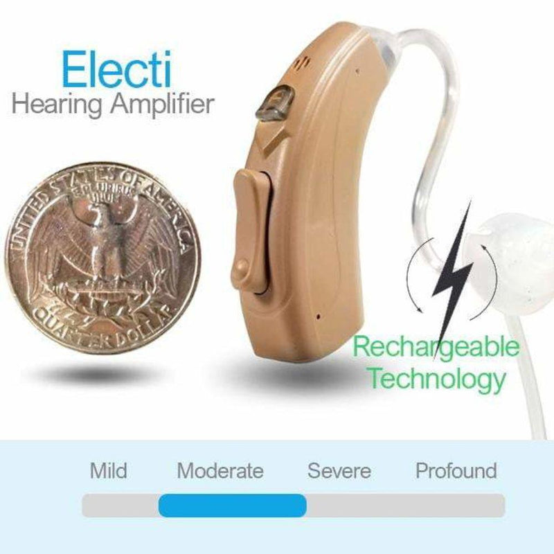 Electi - Digital hearing amplification devices -