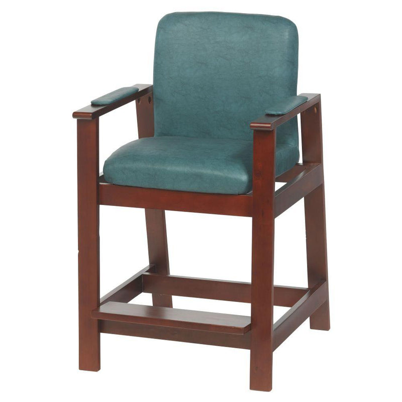 Wooden High Hip Chair - Patient Room