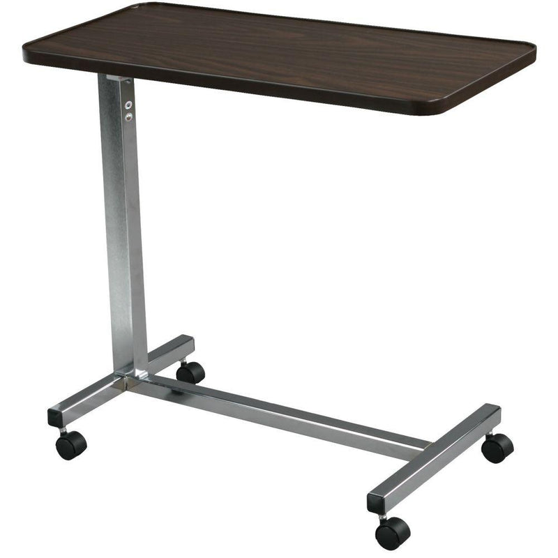 Non Tilt Top Overbed Table Chrome - Patient Room