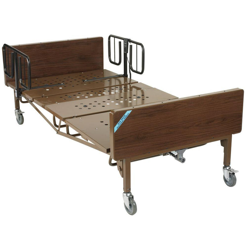 Full Electric Bariatric Hospital Bed with 1 Set of T Rails -